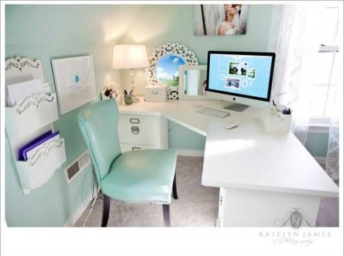 shabby chic office