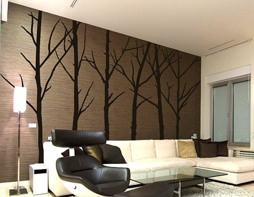 winter-tree-wall-art-decals-in-cute-modern-wall-art-decals-to-decorate-your-empty-interiors-and-related-with-mocha-backdrop-and-the-bare-trees-decor-design-tips-ideas