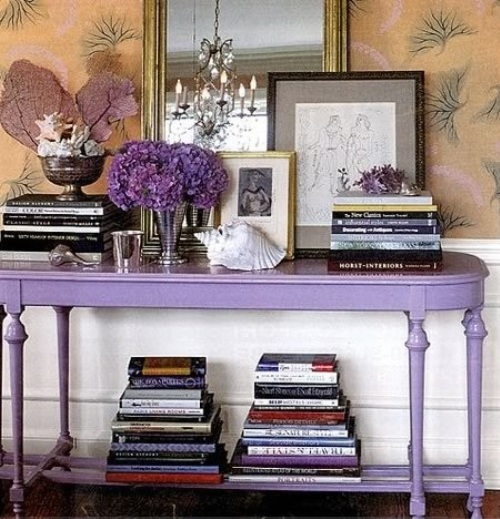 Nothing Cooler Than Lavender Walls