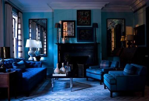 blue room design shelterness