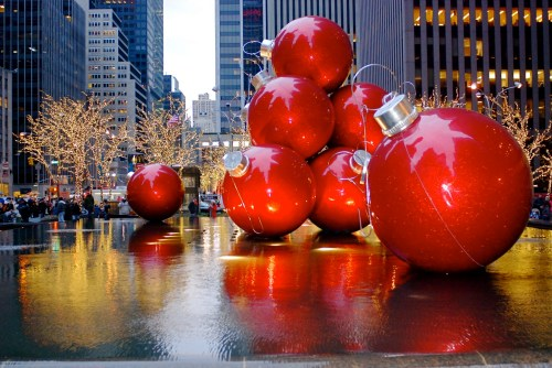 new york christmas balls