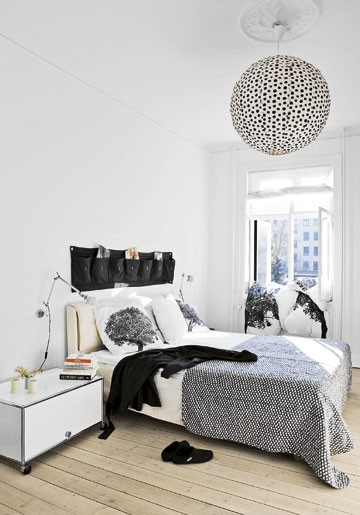 grey and white bedrooms fun