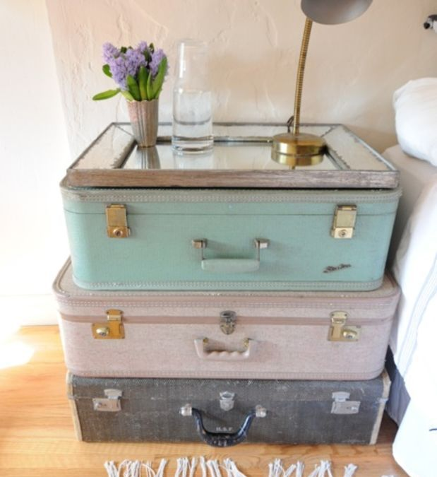 3 Cool Uses For Old Luggage