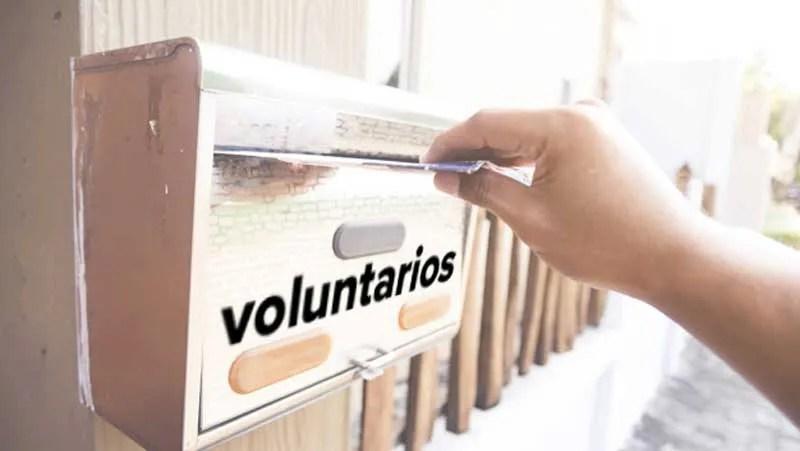 En el día del voluntariado