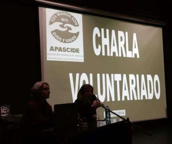 Charla sobre Apascide en la Semana Cultural del IES Anxel Casal- Montealto