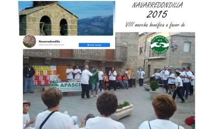 Marcha solidaria en Navarredondilla