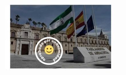 Proposición aprobada por unanimidad en el Parlamento Andaluz