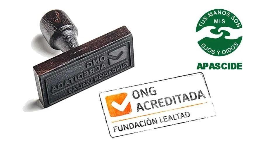 APASCIDE obtiene el sello de ONG acreditada