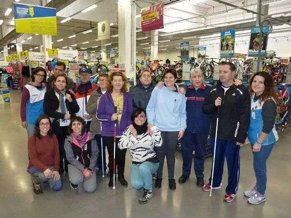 Decathlon colabora con APASCIDE