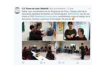 charla en el CE Ponce de León