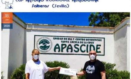 El CEIP Antonio Rodríguez Almodóvar, con el Centro Santa Ángela de la Cruz