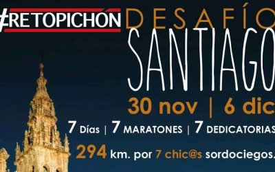 Reto Pichón: siete maratones, doble premio