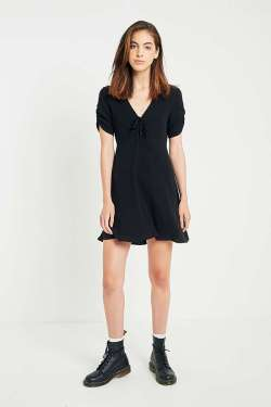 Urban outfitters Urban Outfitters Ruched A-Line Dress