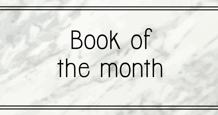 "January book of the month: ""Your soul is a river"""