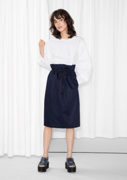 other stories Grosgrain Drawstring Skirt