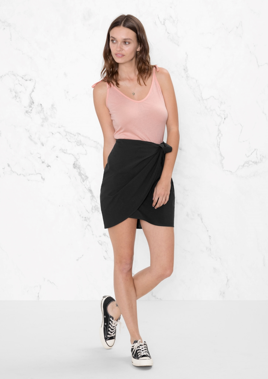 other stories Wrap Skirt