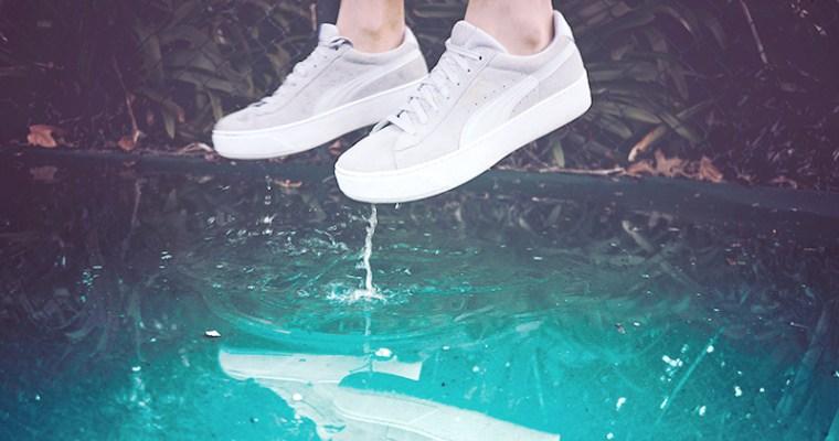 Sneakers con la zeppa – e sono subito anni 90