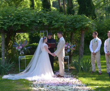 Whitney & Chris Wedding Mount Guilian