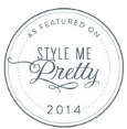 A Perfect Blend Entertainment Featured Wedding on Style Me Pretty