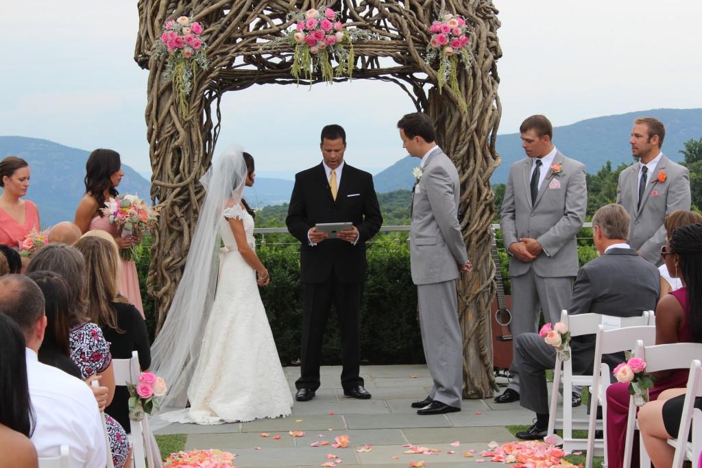 garrison- wedding ceremony