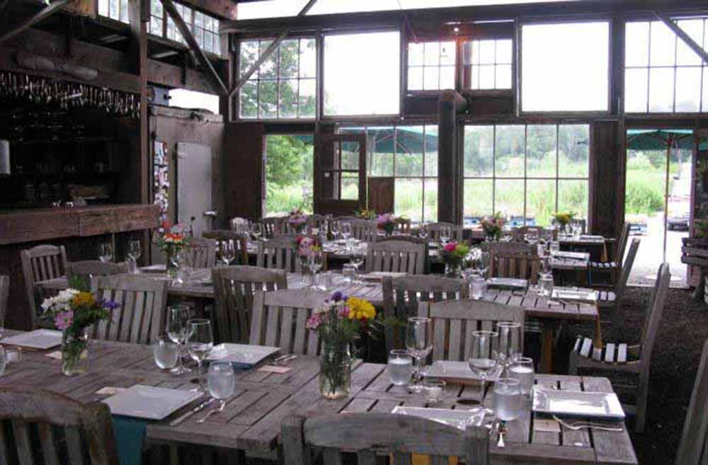 Barn Wedding Field Bloominghill Farm Reception Tables Hudson Valley