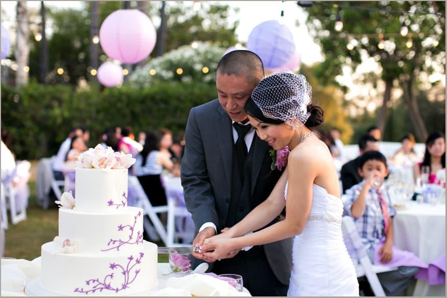 Outdoor Wedding Cake Cutting Song Music Hudson Valley DJ