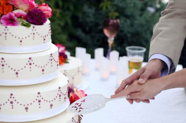 Songs for cake cutting wedding