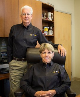 "Jim Witmer and his wife Ruth founded and run OfficerStore.com. Jim says, "" No matter how much we grow, a large percentage of our staff will always be active or retired, law enforcement agency members as well as firefighters, EMTs and Paramedics. That's how we operate…and it's how we live. We're colleagues. We're family."""