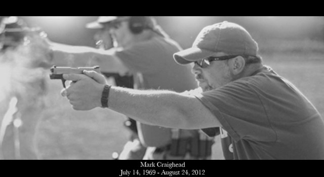 "When Mark Craighead (July 14, 1969-August 24, 2012), the visionary behind CrossBreed Holsters, was asked how he wanted to be remembered, he said, ""Touching other people's lives in a positive way and making a difference, because no matter where you are at in life when you learn to bless other people, you truly get blessed yourself."""