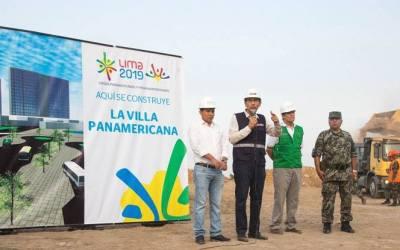 Se iniciaron las obras de la Villa Panamericana 2019