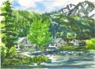 Boathouse, June Lake
