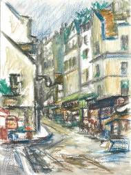 Mouffetard St., Paris