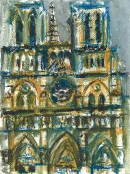 Notre Dame Cathedral Face 2