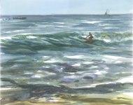 Steven Surfing