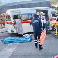 Trailer se queda sin frenos en Cuautla: dos muertos