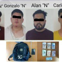 Vecinos de Ocotepec retienen a cuatro asaltantes