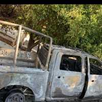 Se incendia patrulla en Cuernavaca