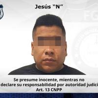 """Vinculado a proceso el """"Chucho"""", presunto líder del CJNG en el oriente de Morelos"""