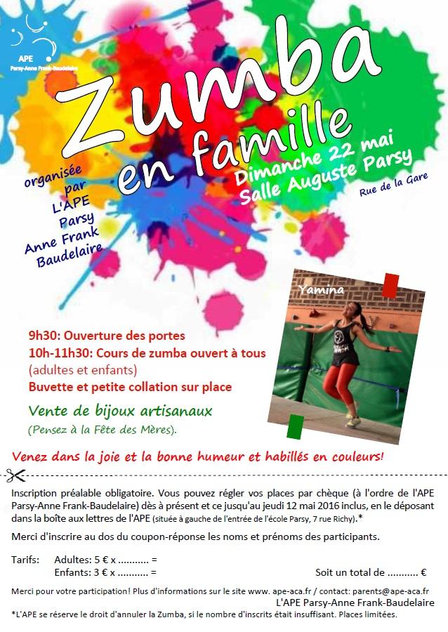 Zumba flyers 2015