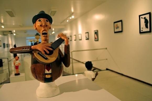 Escultura de Hércules Mendes