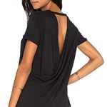 chaser open back tee