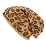 leopard slouch hat