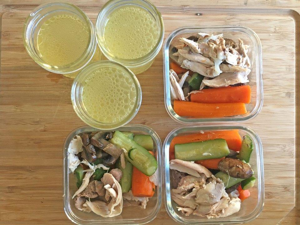 GAPS diet meal prep