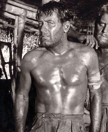 Holden in Bridge on the River Kwai (1957).