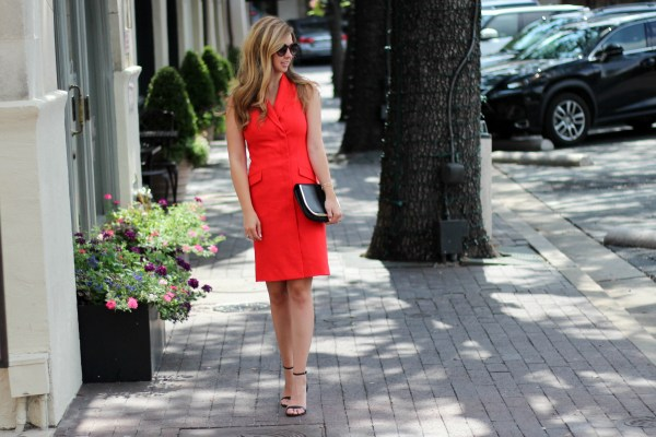 Structured Red Dress_1
