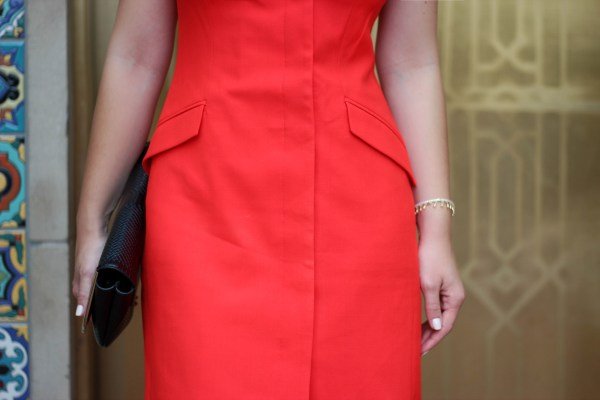 Structured Red Dress_5