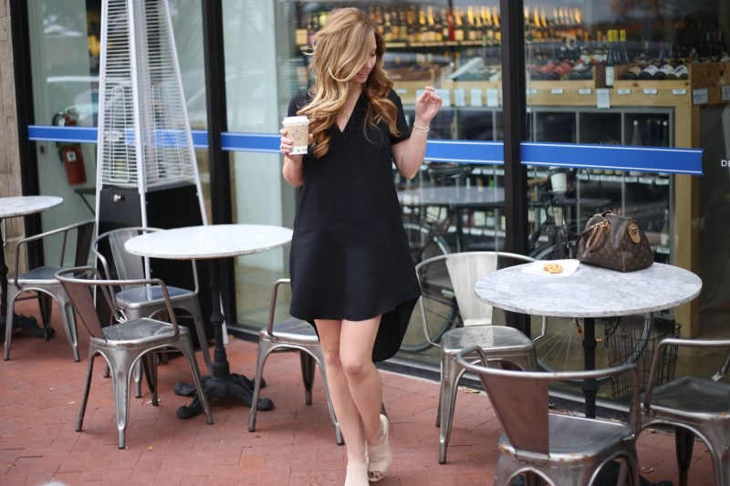 Casual Black Dress - A Pearl Kind of Girl