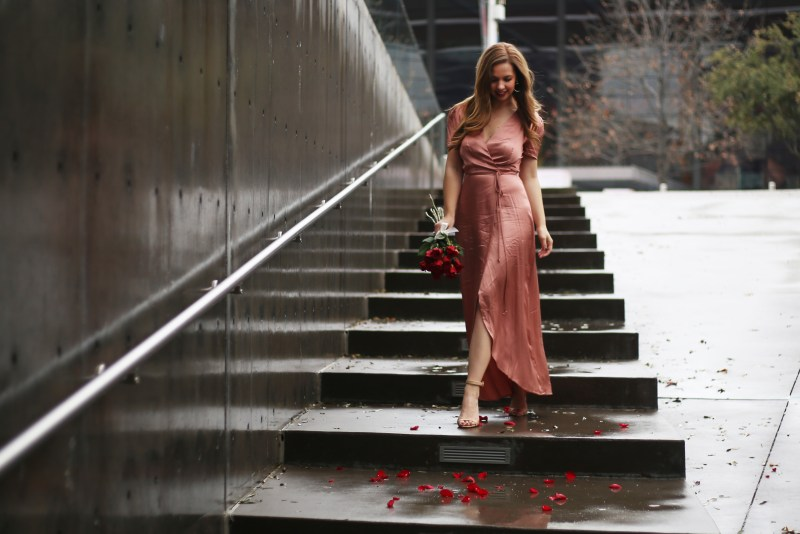 Valentine's Day Dress - A Pearl Kind of Girl