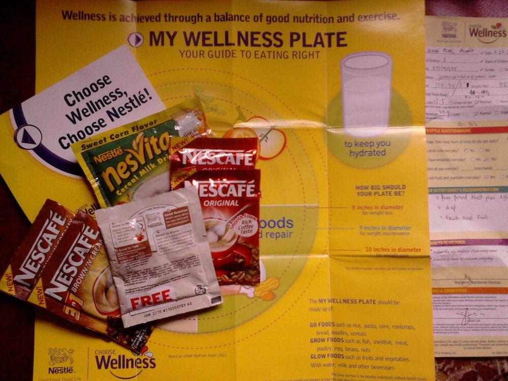 Choose wellness. Choose Nestlé! (1/2)