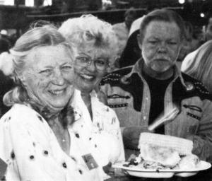 (l-r) Jane Rau, Barbara Copeland, Bob Copeland